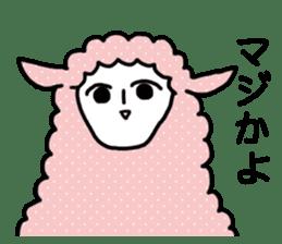 I am Sheep. sticker #450466