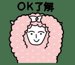 I am Sheep. sticker #450474