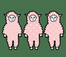 I am Sheep. sticker #450479