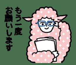 I am Sheep. sticker #450485