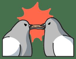 LOVE pigeons sticker #450987