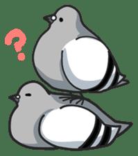 LOVE pigeons sticker #450988