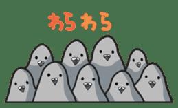 LOVE pigeons sticker #450994
