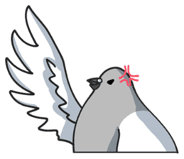 LOVE pigeons sticker #450997