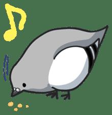 LOVE pigeons sticker #450998