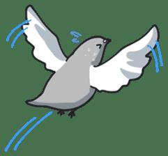 LOVE pigeons sticker #450999