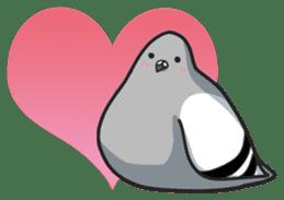 LOVE pigeons sticker #451009