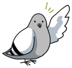 LOVE pigeons sticker #451016