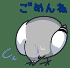LOVE pigeons sticker #451018
