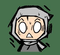 Ninja sticker #451707