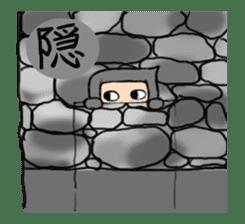Ninja sticker #451732