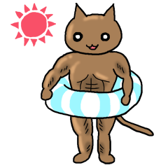 Macho Cat in Summer <2nd Collection>