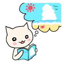 Macho Cat in Summer <2nd Collection> sticker #452225