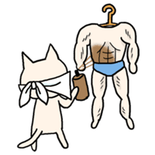 Macho Cat in Summer <2nd Collection> sticker #452231