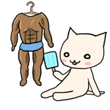 Macho Cat in Summer <2nd Collection> sticker #452232
