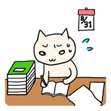 Macho Cat in Summer <2nd Collection> sticker #452264