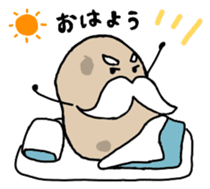 Potatoes grampa Japanese version sticker #452991