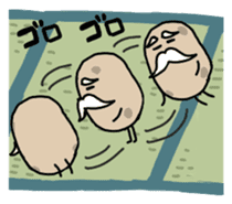 Potatoes grampa Japanese version sticker #452997