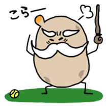 Potatoes grampa Japanese version sticker #453001