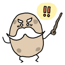 Potatoes grampa Japanese version sticker #453015
