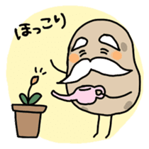 Potatoes grampa Japanese version sticker #453019