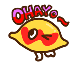 FOOD-chan sticker #453348
