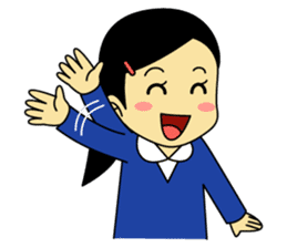 Students stickers - Girl sticker #453746