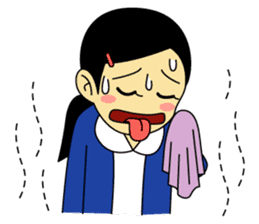 Students stickers - Girl sticker #453781