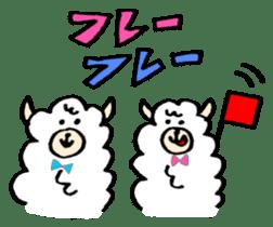 chating alpaca sticker #453785