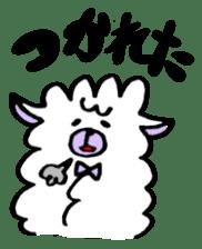 chating alpaca sticker #453787