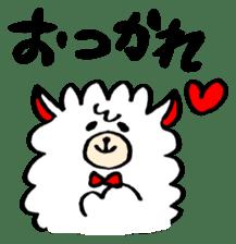 chating alpaca sticker #453788