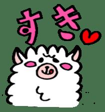 chating alpaca sticker #453790