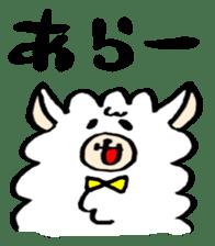 chating alpaca sticker #453795