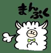 chating alpaca sticker #453798
