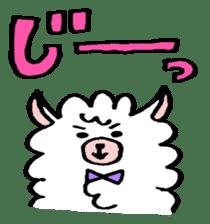 chating alpaca sticker #453806