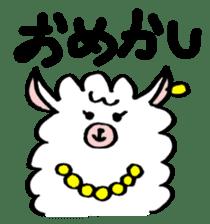 chating alpaca sticker #453808
