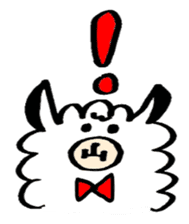 chating alpaca sticker #453809