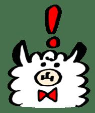 chating alpaca sticker #453809