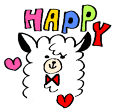 chating alpaca sticker #453815