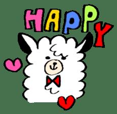 chating alpaca sticker #453815