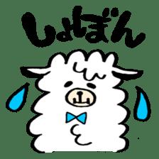 chating alpaca sticker #453817