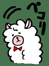 chating alpaca sticker #453820