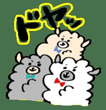 chating alpaca sticker #453821