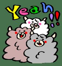 chating alpaca sticker #453824