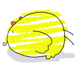 Yellow bird of the happiness sticker #454181
