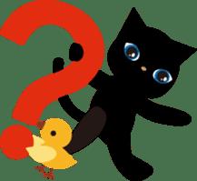 Kuro of the stray cat and Piyo sticker #454706