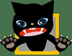 Kuro of the stray cat and Piyo sticker #454717