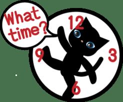 Kuro of the stray cat and Piyo sticker #454727