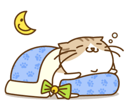 Chubby'n Fatty but Cutie Cat! sticker #455076