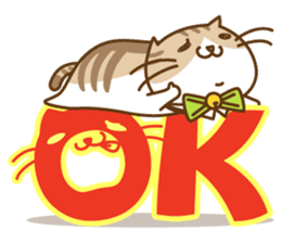 Chubby'n Fatty but Cutie Cat! sticker #455085